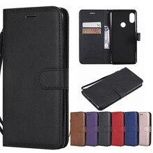 Case Xiaomi Redmi Note 6 Pro Flip Leather Wallet Case Card Holder Phone Coque Black Xiaomi Redmi Note 6 Pro Book Cover