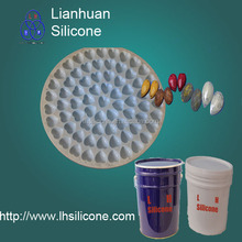 Transparent liquid silicone rubber making molds for Jewelry,plastic