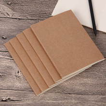 1PC Cowhide Paper Vintage Cover Travel Journal Notebook Blank Notepad Office School Stationery Supplies(China)