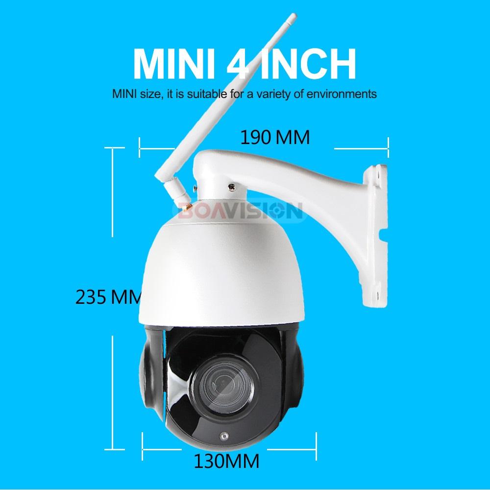 Wireless Ptz Speed Dome 1080p Ip Wifi Camera Outdoor 4x 18x Zoom ...