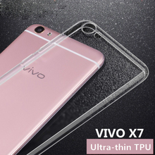 For vivo X7 plus v3 max X6 pro Phone Cases bbk x3 xshot Clear Tpu Soft CaseFor Y53 Xplay5 Y37 Y29 8 power bank(China)