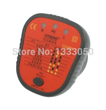 Free Shipping  Plastic Shell LED Dot Display AU Plug Socket Safety Tester<br><br>Aliexpress