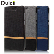 Dulcii coque for Huawei P8 Lite 2017 Nova Lite case Cross Pattern Leather Card Holder cover for Huawei P8 Lite 2017 funda capa(China)