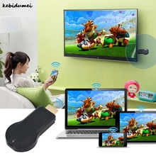 Kebidumei Kebidumei M2 DLNA Air paly WIFI Media Player 1080P Windows iOS Android Ipush Smart TV Stick Dongle Google Chromecast(China)