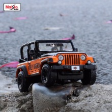 Maisto 1:27 Scale Vehicle Wrangler Rubicon Off-roading Metal/Alloy/ Die cast model cars for kids