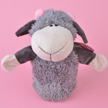 NICI Cherry Sheep hand puppet plush toy, Stuffed Baby / Kids Doll Toy Gift Free Shipping