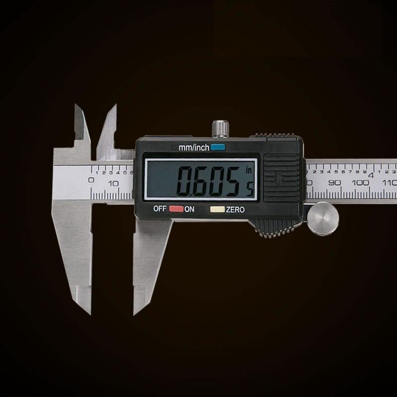 1pcs High quality 200mm 8 Digital caliper vernier caliper GAUGE MICROMETER electronic vernier digital caliper+black box<br><br>Aliexpress