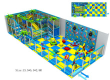 Revised Design For Children Playground Set With Baby Area Top Quality Kids Indoor Play Equipment HZ-5402c