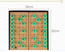 Foldable ChessBoard Mini Chinese Chess Game For Board Game Family Game Outdoor Friend Party Fun Chinese XiangQi Chess Board Game(China)