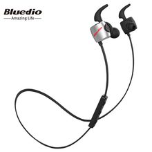Bluedio TE Sports Bluetooth headset Wireless headphone in-ear earbuds Built-in Mic Sweat proof earphones for iphone calls music