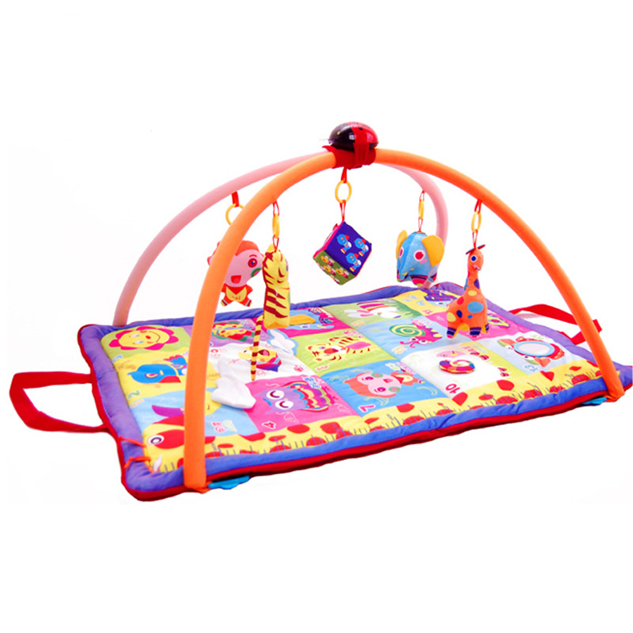 Baby Toys Baby Rattles Mobiles Baby Multi Function Creep Blanket Game Pad Body To Send Story Machine Parent Child Interaction<br><br>Aliexpress