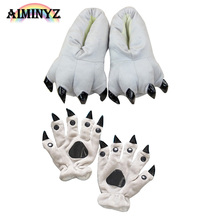 Shineye Hot Animal Paw winter Warm Lovely A Variety Of Colors Soft Soles Christmas Gifts Cartoon For Animal Pajamas Fingers Toes