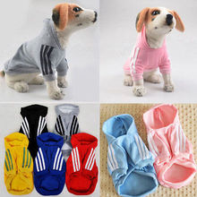 2017 Hot Cute Pet Coat Dog Jacket Winter Clothes Puppy Cat Sweater Coat Clothing Apparel