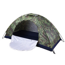 2017 Portable Camping Beach Military Tent Sun Shade Shelter Outdoor Hiking Travel Ultralight Fishing Party Camouflage Tents