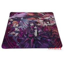 Hot sale boots wings cleavage long hair weapons creative optical Silicone Mouse Pad Free shipping jsh-pad0018