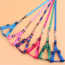 Cheap polyester printing traction rope pet dog leashes rope,quality is very good, pet supplies home accessories 5zcx377(China)