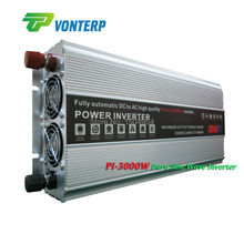 Dc 24v to ac 220v  Pure Sine Wave DC-AC Inverter 3000W, 3000W inverter  dc to ac, Pure sine wave inverter 3000W peak 6000W