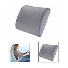 Memory Foam Pillow Lumbar Chair Cushion Car Auto Travel Back Support Seat Cushion High-Resilience Back Pillow for Home Office(China)