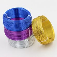 100m/roll 1mm Diameter aluminum wire for DIY Metal Crafts Fitting(China)