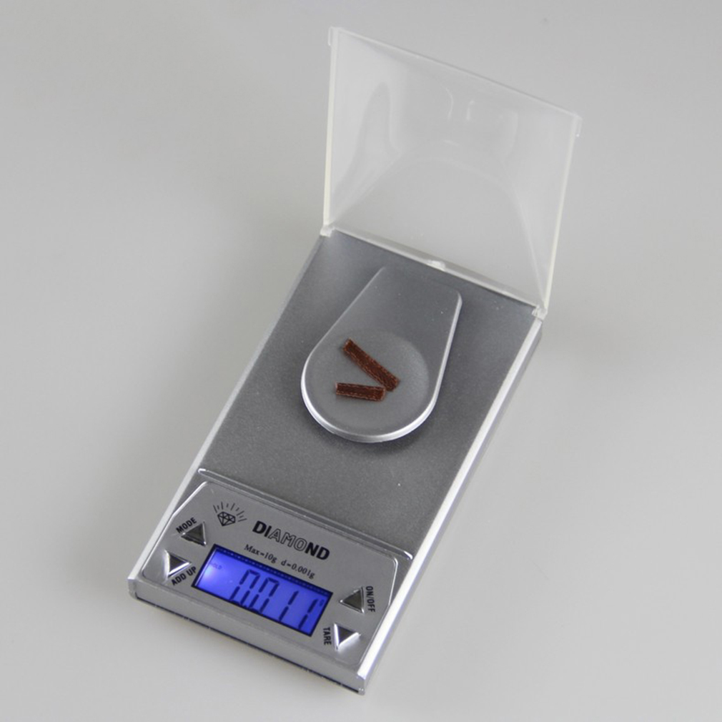 High Precision Compact Portable Experiment 50G 0.001g LCD Digital Jewelry Scale Lab Gold Herb Balance Weight Gram