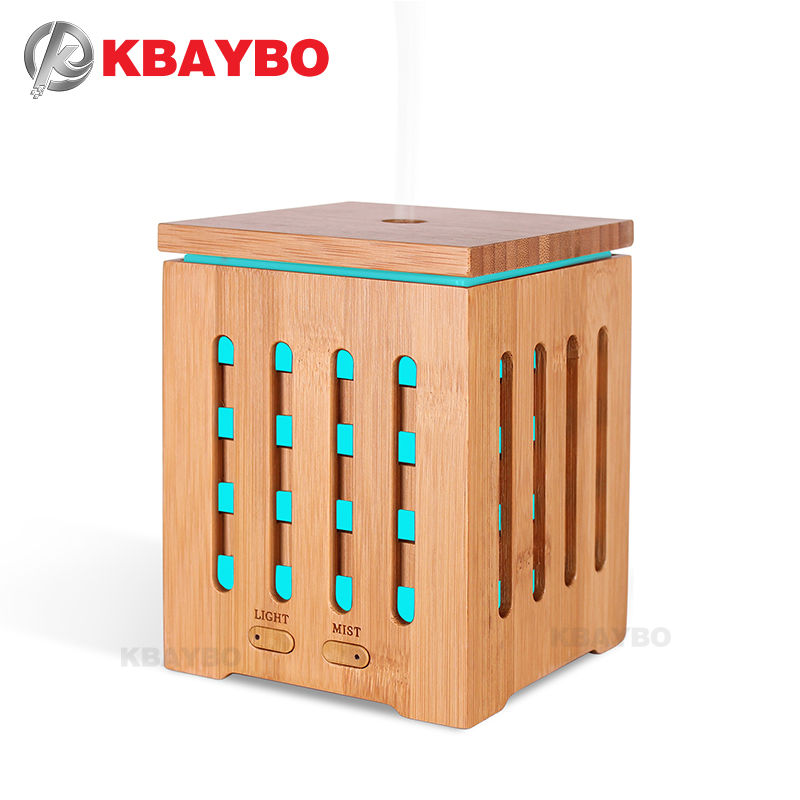 KBAYBO 200ml Essential Oil Diffuser Ultrasonic Aroma therapy Diffusers with 7 LED Colorful Lights and Waterless Auto Shut<br>