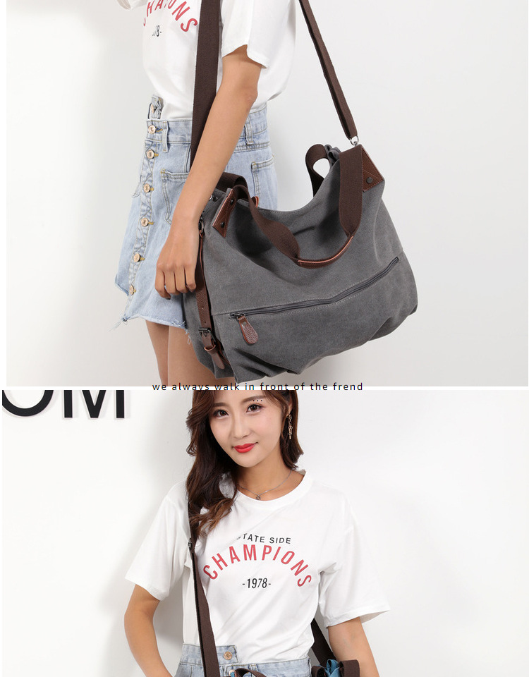 Detail Feedback Questions about SUNNY SHOP Vintage Canvas Bag For ... bb1e139cb9