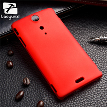 TAOYUNXI For Sony Ericsson Xperia TX Lt29i 4.55 Inch Colorful Frosted Matte Phone Cover Hybrid Hard Plastic Back Case Phone Case