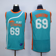 "Horlohawk 2017 New Downtown 69 ""Funky Stuff"" Malone Flint Tropics Semi Pro Team Basketball Jersey"