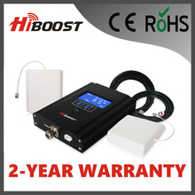 Hiboost Newest Intelligent  AGC LCD Display EGSM/GSM 2G Signal Booster Cover Over 1000M2 Telecom Repeater Hi17-EGSM