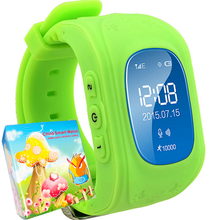 Child Smartwatch GPS Tracker Watch Children Smart Watch Anti Lost Chrismas Gift Toys Electronics Watches for Kids Girls Boys Q50