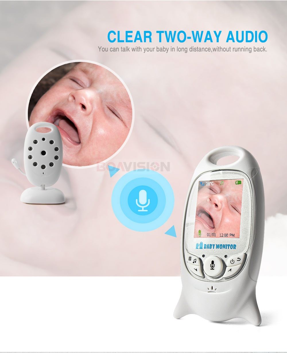 03 two way audio baby monitor