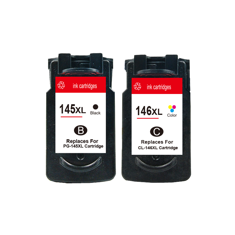 PG-145 CL-146 ink cartridge For Canon PG145 CL146 PIXMA MG2410 MG2510 Printer<br><br>Aliexpress