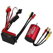 Buy SURPASS HOBBY S2435 4800KV Sensorless Brushless Motor 25A Brushless ESC Combo Set 1/16 1/18 RC Car for $21.94 in AliExpress store