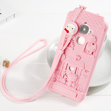For Letv LeEco Le 2 X620 x527 3D Cute Cartoon Fabitoo Hello Kitty Phone Case Soft Silicone Back Cover Case