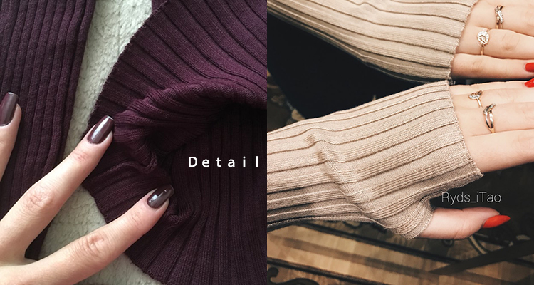 Women Sweater Pullover Basic Rib Knitted Cotton Tops Solid Crew Neck Essential Jumper Long Sleeve Sweaters Autumn Winter 17 7