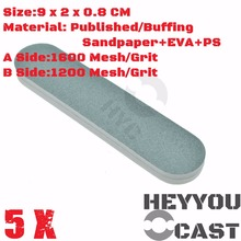 5/Pack Buffing SandPaper Sticks for Model Kit Hobby Finishing Tools Accessory