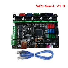 3D Printer Controller Borad MKS Gen-L V1.0 Compatible with Ramps1.4 MKS Gen L Support A4988/DRV8825/TMC2100/LV8729