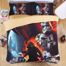 3D Star Wars beddings set single Queen King size be sheet bed linen unique cotton duvet covert and classic movie Phantom Menace