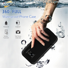 KISSCASE Underwater Plastic Armor Full Case For Samsung Galaxy S7 Cases Ultra Thin Water/Dirt/Shock Proof Cover For Galaxy S7