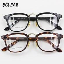 2c7fa800ae5 BCLEAR Vintage Italian acetate high quality spectacle frame men women  fashion retro full frame eyeglasses most popular hot M9637