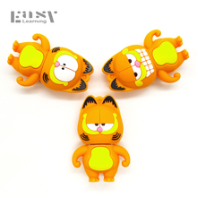 Easy Learning USB 2.0 Garfield Cartoon USB Flash Drive Pendrives 4GB 8GB 16GB USB Stick External Memory Storage Pen Drive