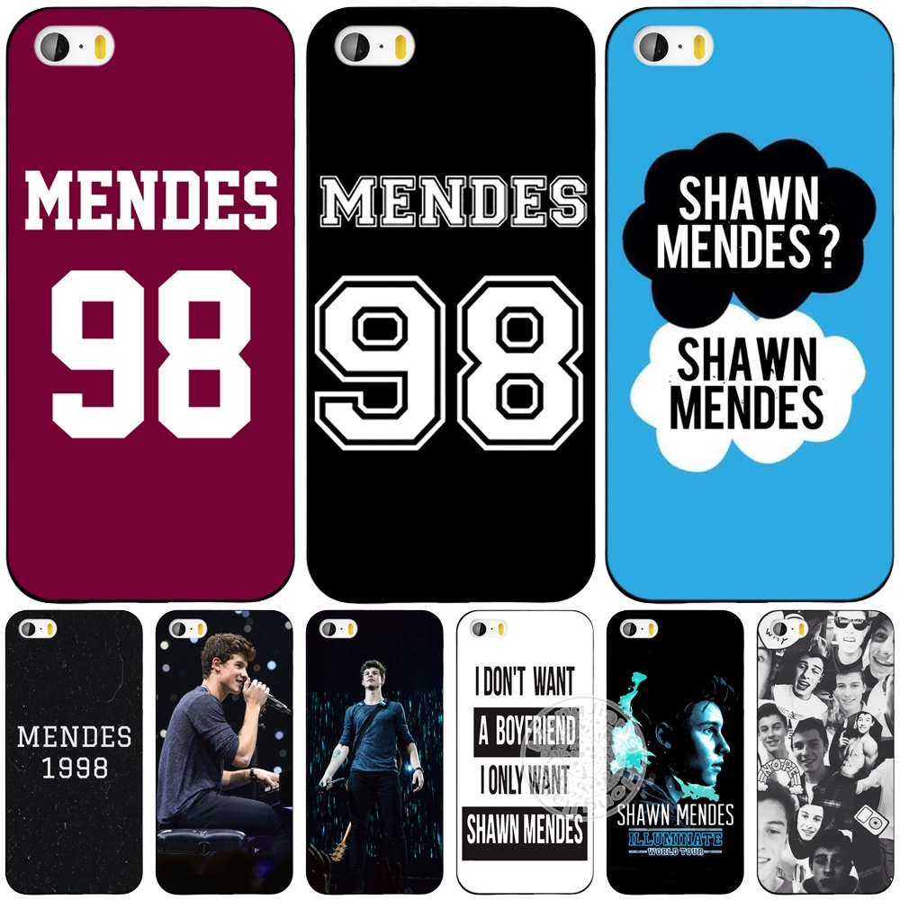 shawn mendes 98 cell phone Cover case for iphone 6 4 4s 5 5s SE 5c 6 6s 7 plus case for iphone 7(China (Mainland))