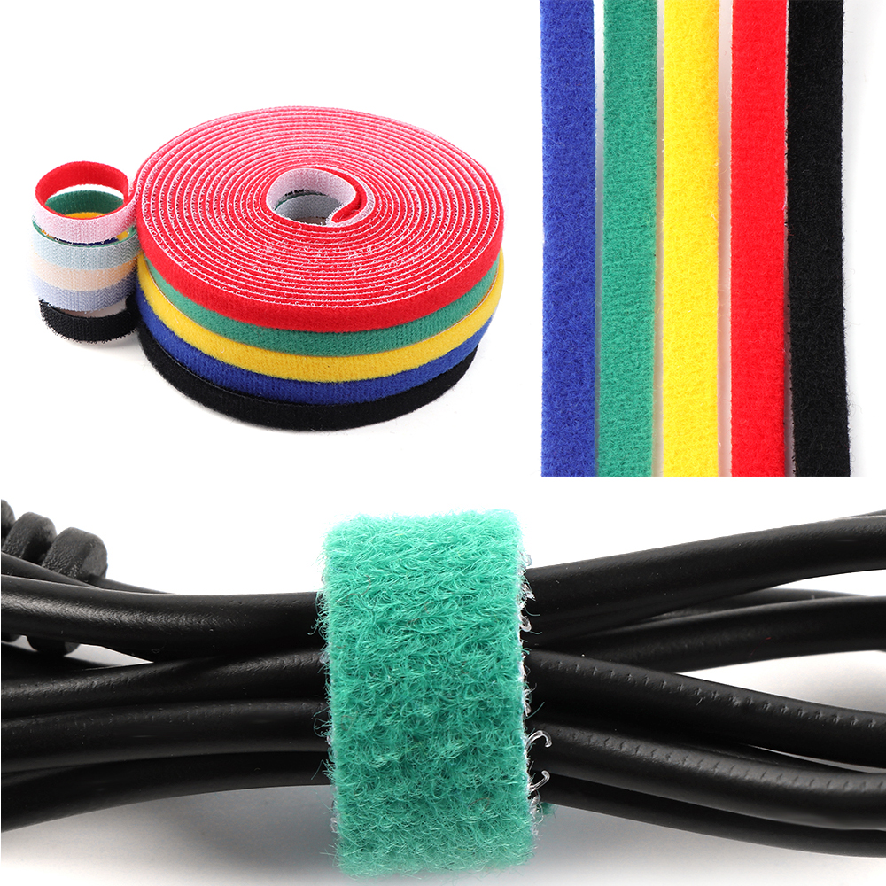 Wire Management Practical Fastener Nylon Strap Cord Organizer Marker Cable Ties