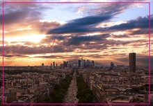 Free Shipping Over Min. Order $12,Paris, France Champs elysees Landscape Fridge Magnet 5498 Tourism Souvenir(Hong Kong)