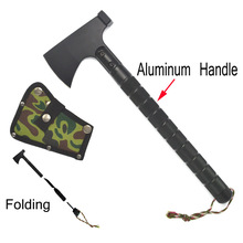 Outdoor multifunction camping tools axe aluminum folding Tomahawk axe fire fighting rescue survival Hatchet(China)