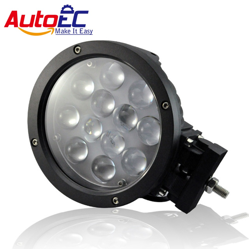 AutoEC Led Work Light Lamp 12 LED 60W 5850LM Spot Flood Beam for Off-road Vehicle ATVs Arts Truck Engineering Vehicles #LX47<br><br>Aliexpress
