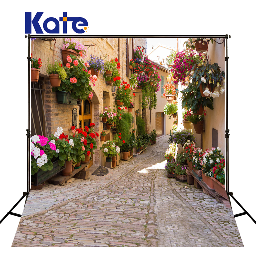 Kate 10x20ft Old City Photography Background Outdoor Wedding Photo Studio Backdrop Photography Cotton Background Fantasy <br>