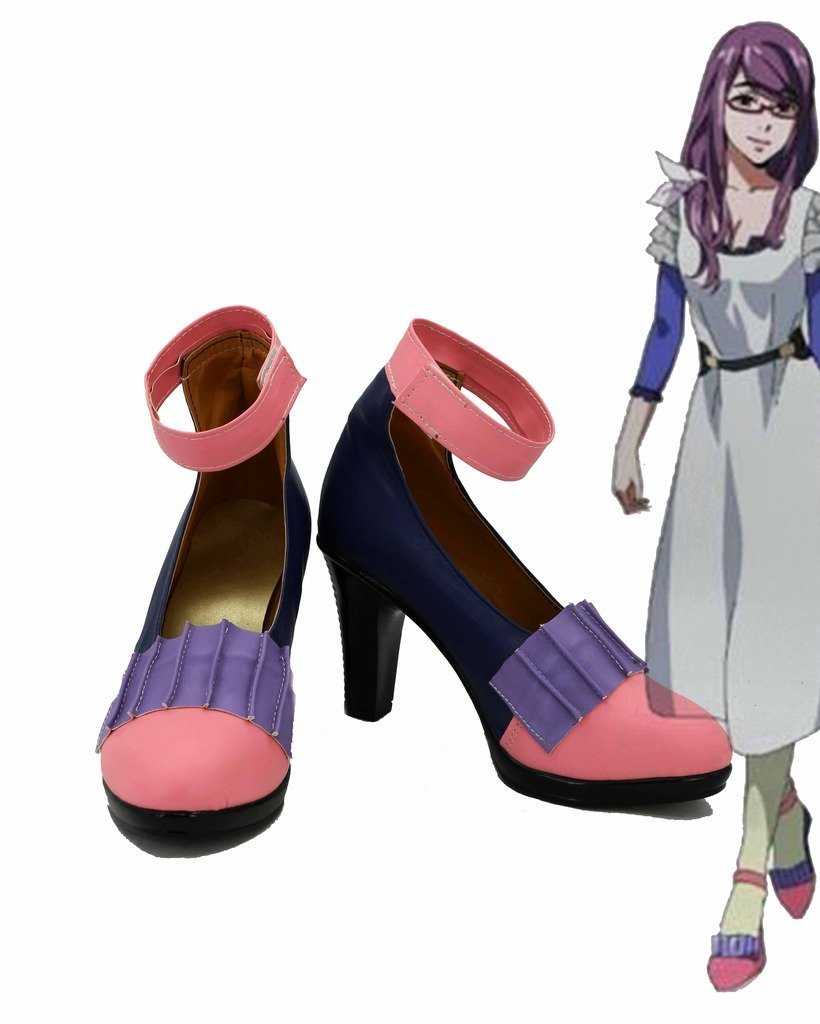 Tokyo Ghoul Anime Rize Kamishiro Cosplay Shoes Boots Custom Made