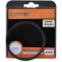 Zomei 67mm SF Circular Filter Soft Focus Effect Diffuser Filter Hazy Filter for Canon Nikon Sony DSLR SLR camera 67 mm(China)