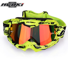 NENKI Motocross Goggles Cross Country Skis Snowboard ATV Mask Oculos Gafas Motocross Motorcycle Helmet 1016-3 MX Goggles Glasses